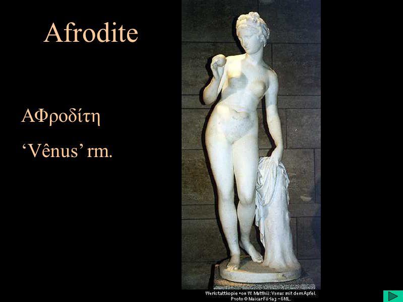 Afrodite ΑΦροδίτη Vênus rm.