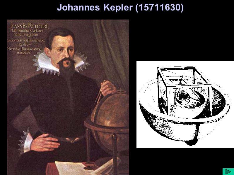Johannes Kepler (15711630)