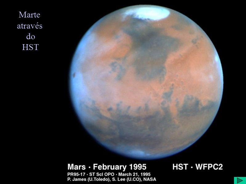 Marte através do HST