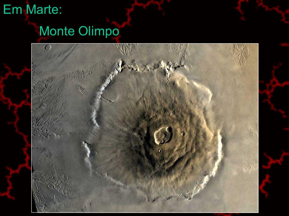 Na Terra: Vulcão Paricutin