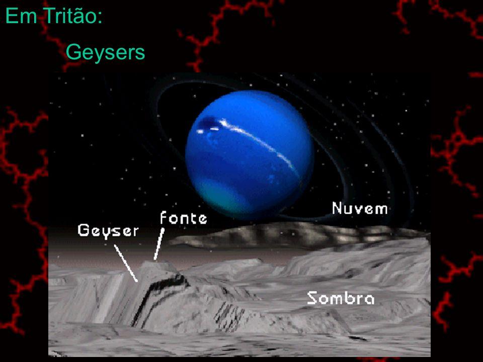 Em Tritão: Geysers