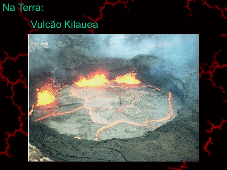 Vulcão Etna Na Terra: