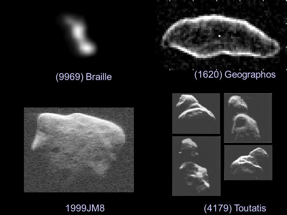(1620) Geographos (9969) Braille 1999JM8(4179) Toutatis