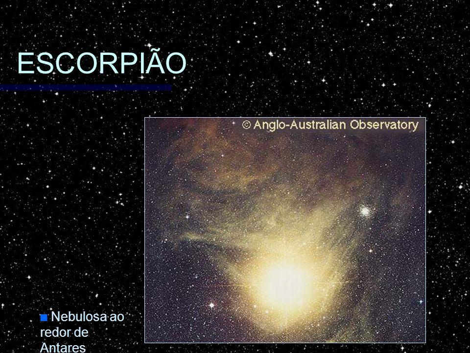 ESCORPIÃO Nebulosa ao redor de Antares Nebulosa ao redor de Antares