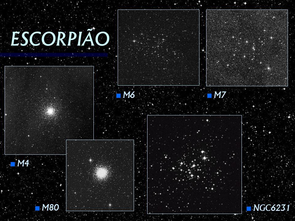 ESCORPIÃO M4 M4 M80 M80 M6 M6 NGC6231 NGC6231 M7 M7
