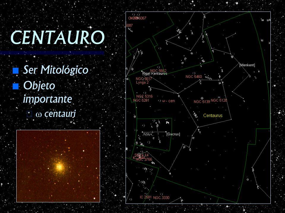 CENTAURO Ser Mitológico Ser Mitológico Objeto importante Objeto importante – centauri