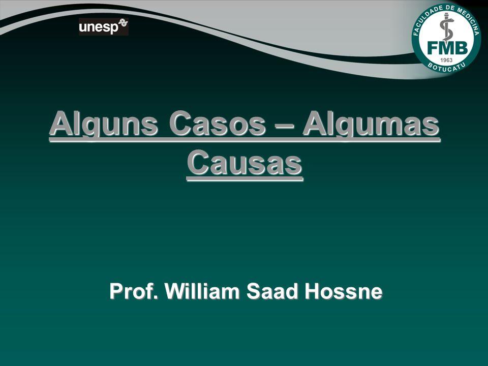 Alguns Casos – Algumas Causas Prof. William Saad Hossne