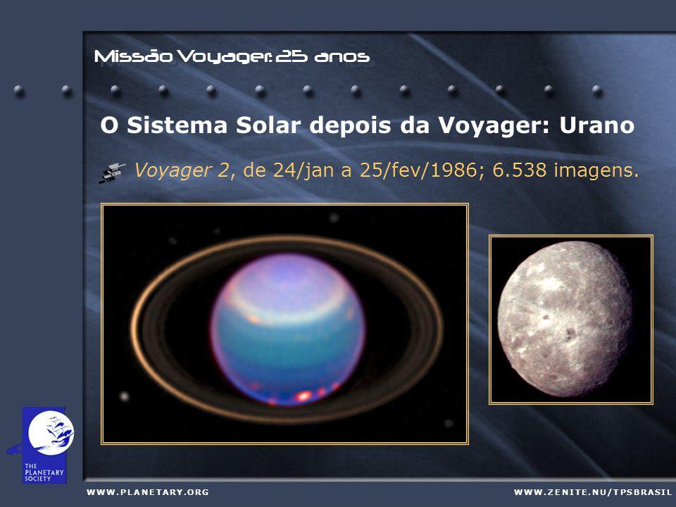 Missão Voyager: 25 anos W W W. P L A N E T A R Y. O R GW W W. P L A N E T A R Y. O R GW W W. Z E N I T E. N U / T P S B R A S I LW W W. Z E N I T E. N