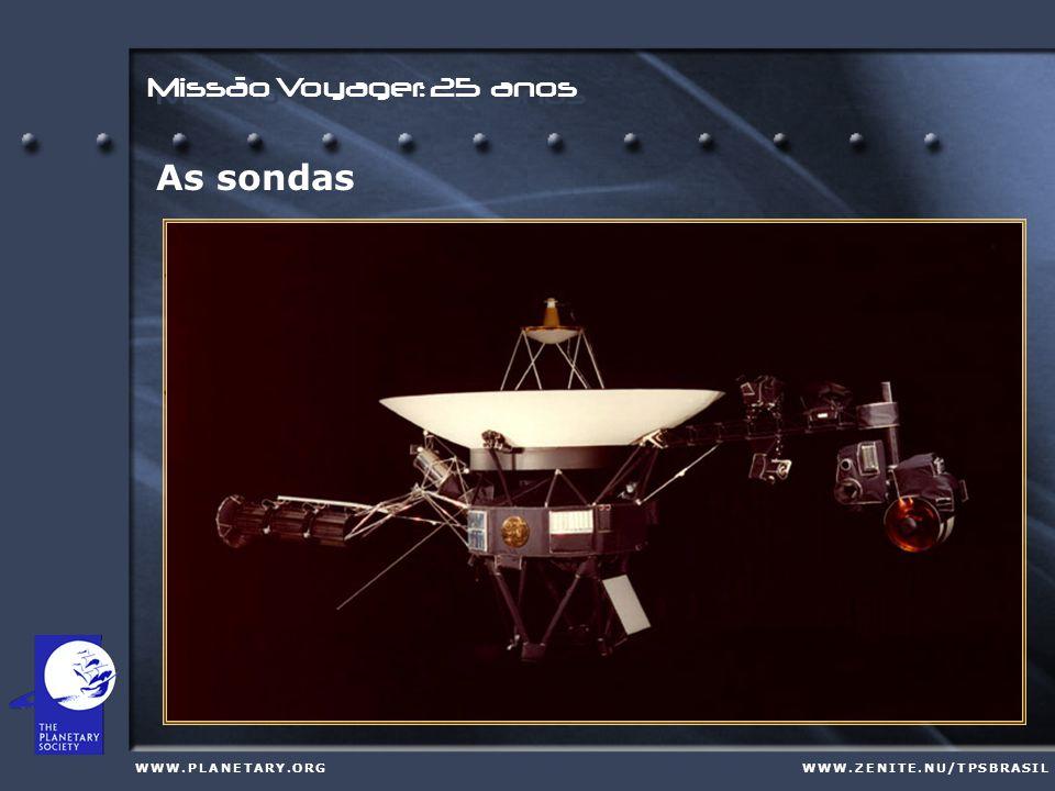 Em 1972 o Congresso norte-americano aprova o orçamento para a missão Mariner Jupiter/Saturn '77, do original Grand Tour. W W W. P L A N E T A R Y. O R
