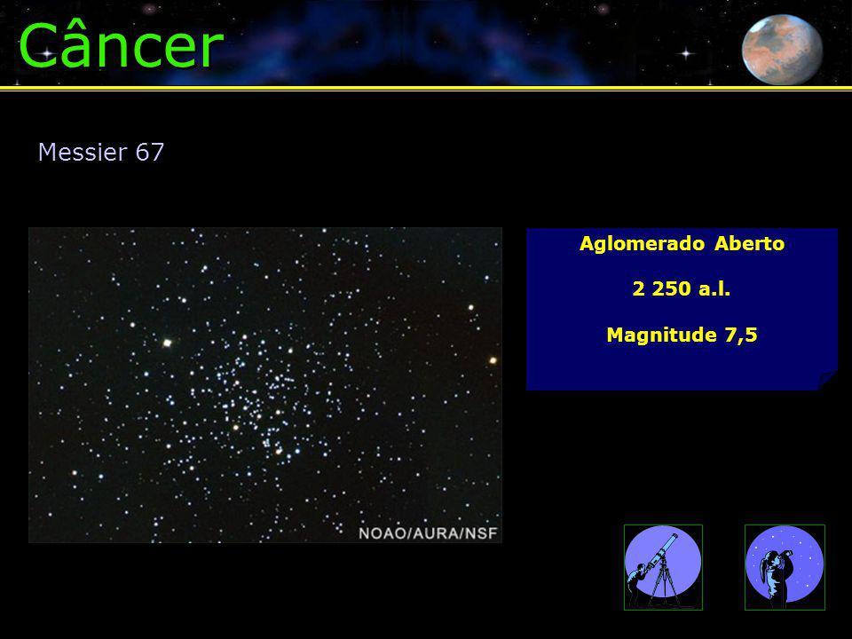 Câncer Aglomerado Aberto 2 250 a.l. Magnitude 7,5 Messier 67