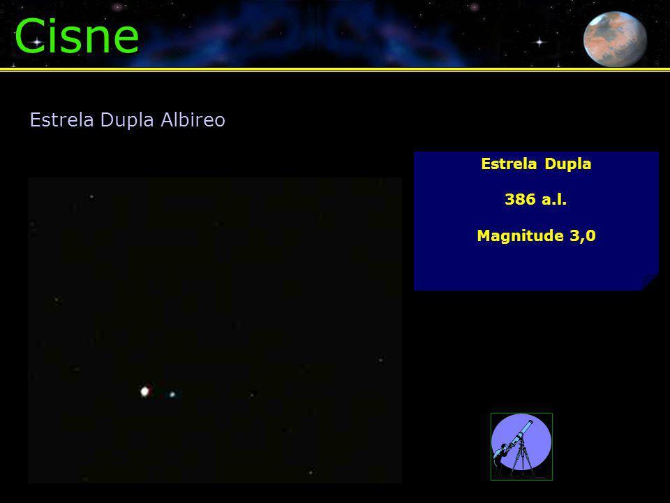 Cisne Estrela Dupla 386 a.l. Magnitude 3,0 Estrela Dupla Albireo