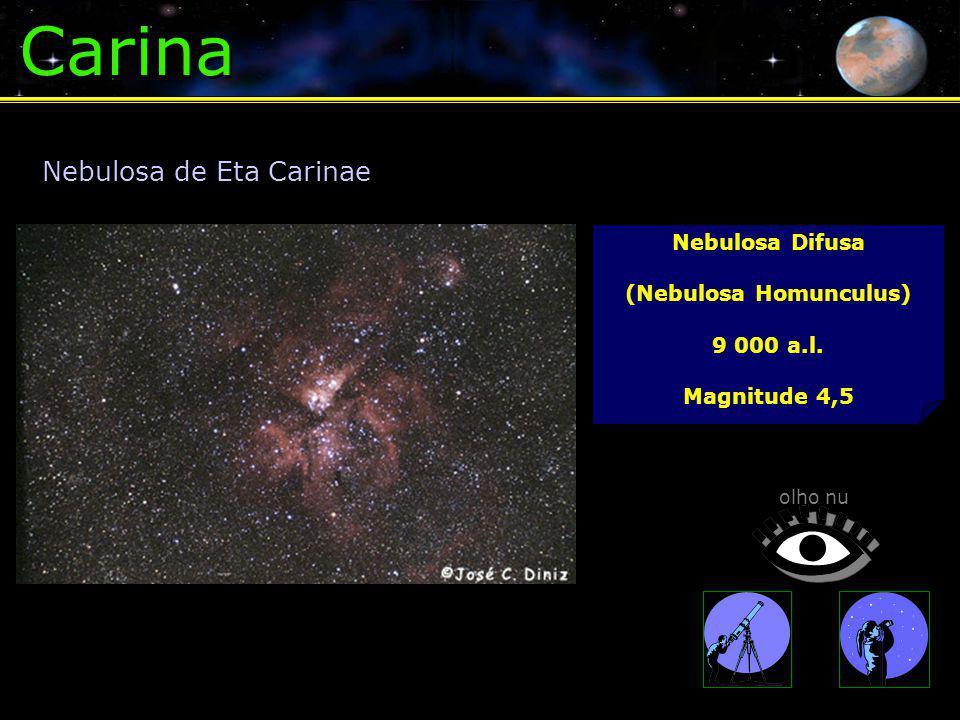 Carina Nebulosa Difusa (Nebulosa Homunculus) 9 000 a.l.