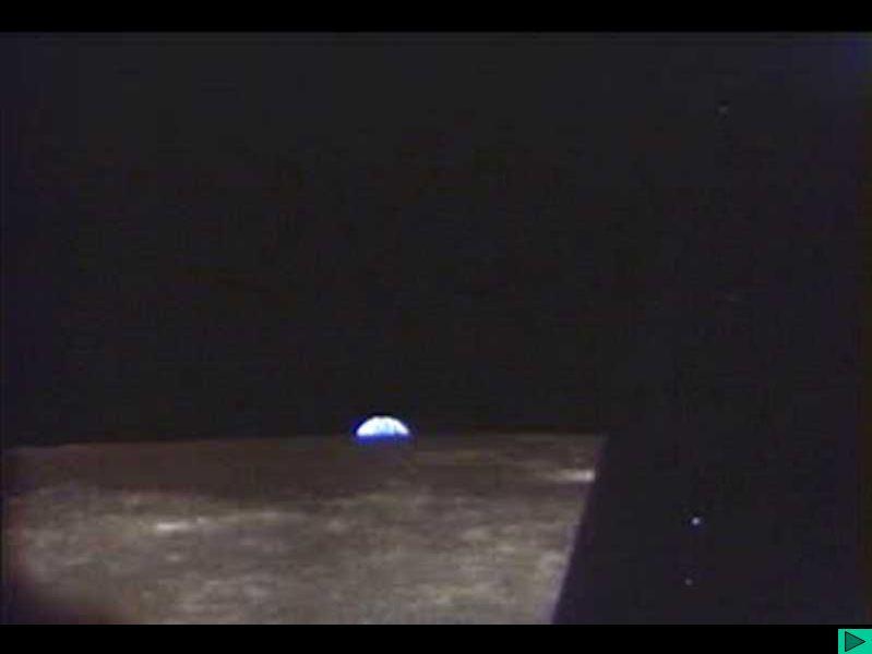 Módulo de comando orbitando a Lua