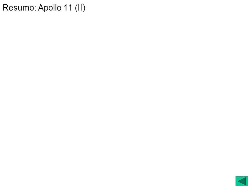 Resumo: Apollo 11 (II)