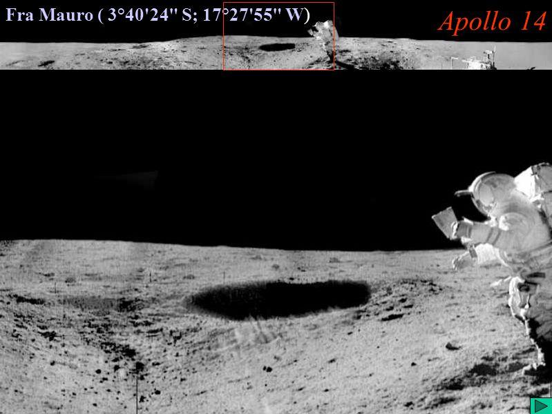Apollo 14 (IV) Fra Mauro ( 3°40'24