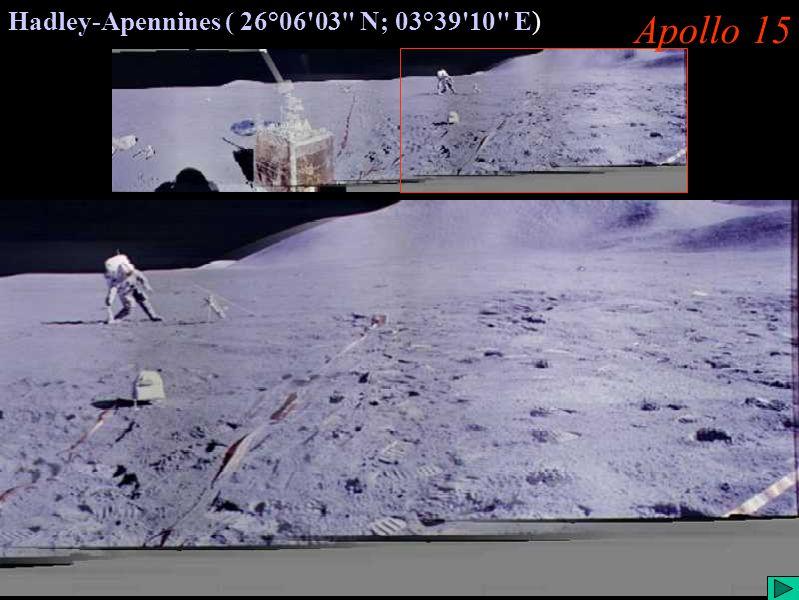 Apollo 15 (III) Apollo 15 Hadley-Apennines ( 26°06'03