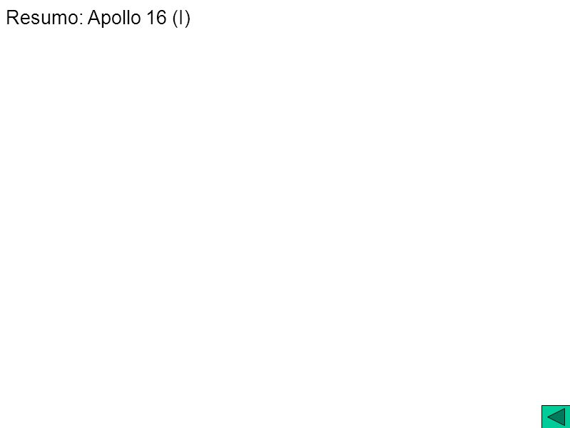Resumo: Apollo 16 (I)
