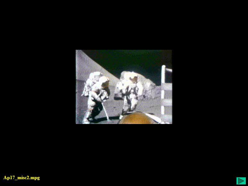 Apollo 17 - Missão - animação Ap17_misc2.mpg
