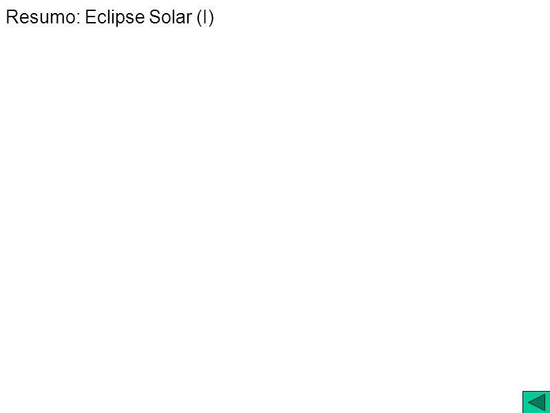 Resumo: Eclipse Solar (I)