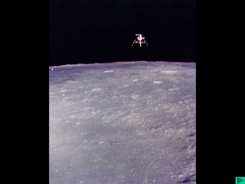 Módulo lunar - Orbitando