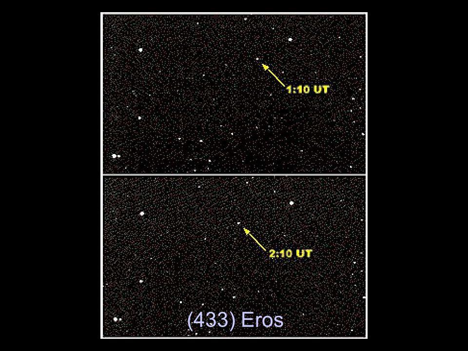 Observação: Na data prevista para a inserção em órbita da NEAR em torno de Eros, o motor principal não funcionou.