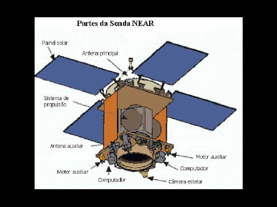 06) 06) A nave NEAR, de meia tonelada, pronta, no JHUAPL.