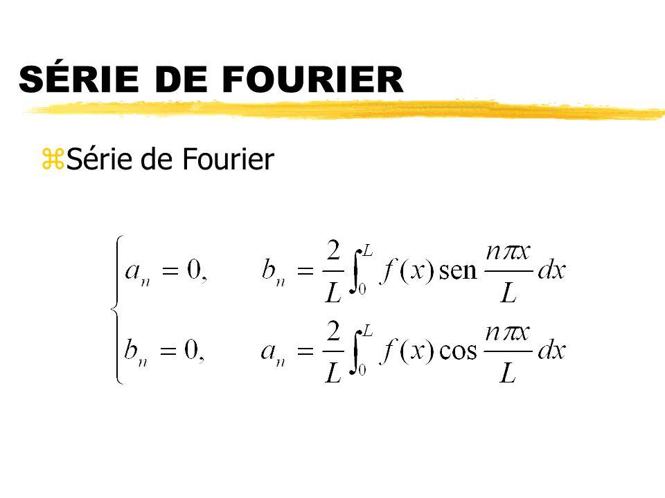 SÉRIE DE FOURIER zSérie de Fourier