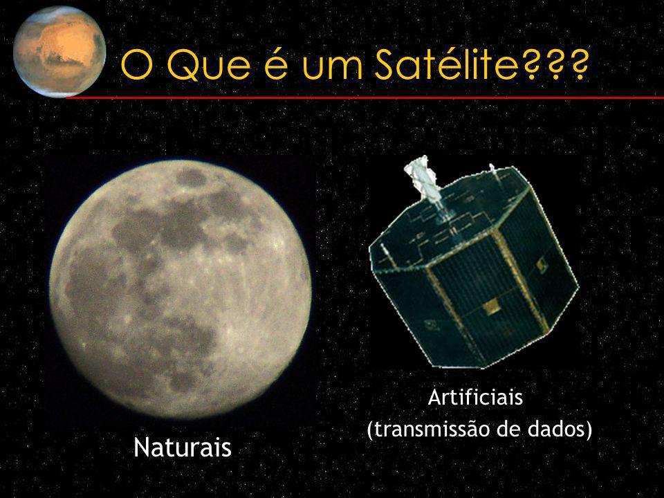 O que é um satélite??.
