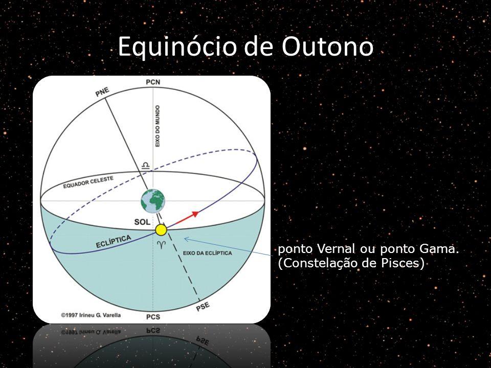 Equinócio de Outono ponto Vernal ou ponto Gama. (Constelação de Pisces)