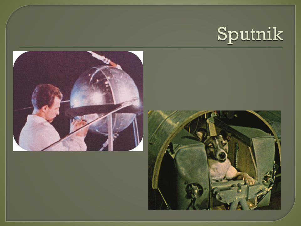 Ultima missão Sputnik.