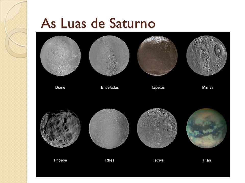 As Luas de Saturno