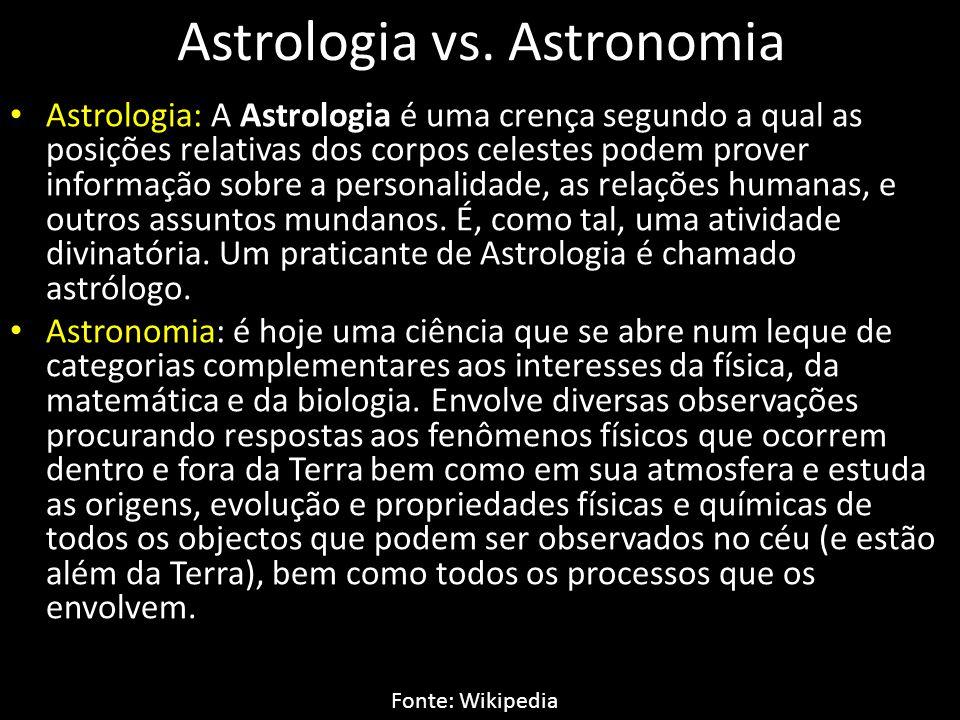 Astrologia vs.