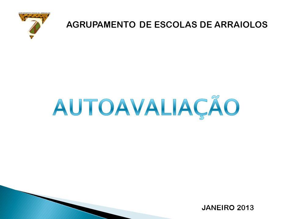 AGRUPAMENTO DE ESCOLAS DE ARRAIOLOS JANEIRO 2013