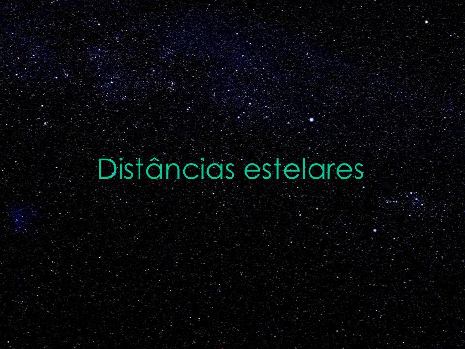 Distâncias estelares
