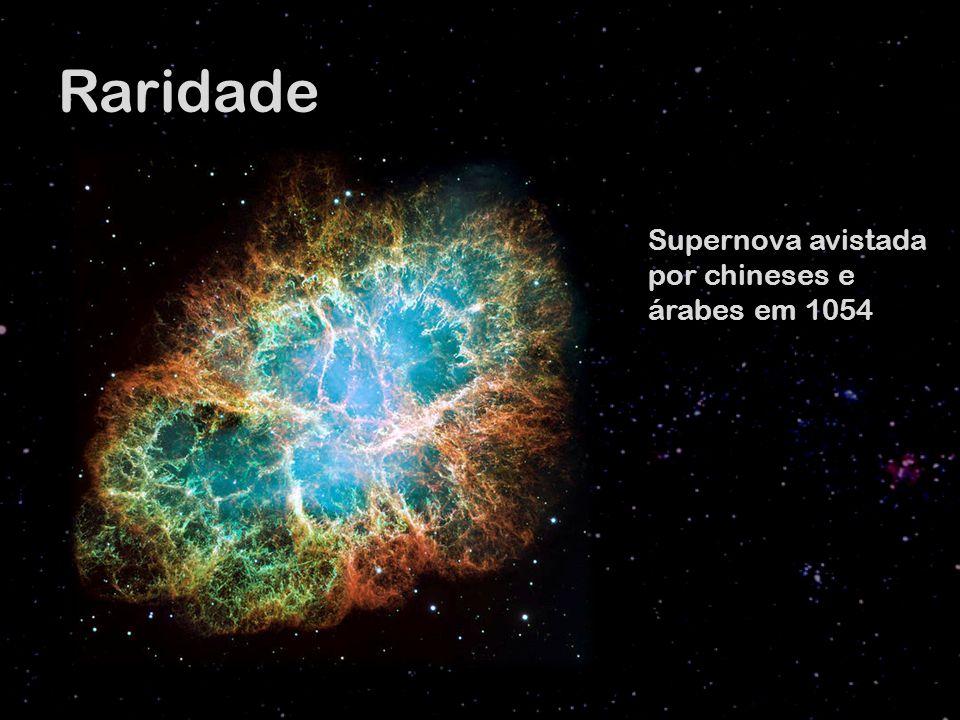 Raridade Supernova avistada por chineses e árabes em 1054
