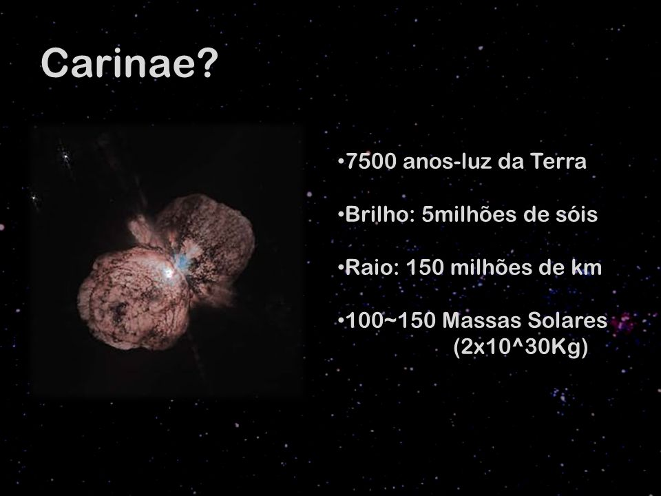 Carinae.