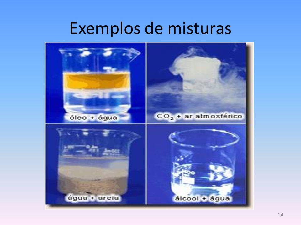 Exemplos de misturas 24