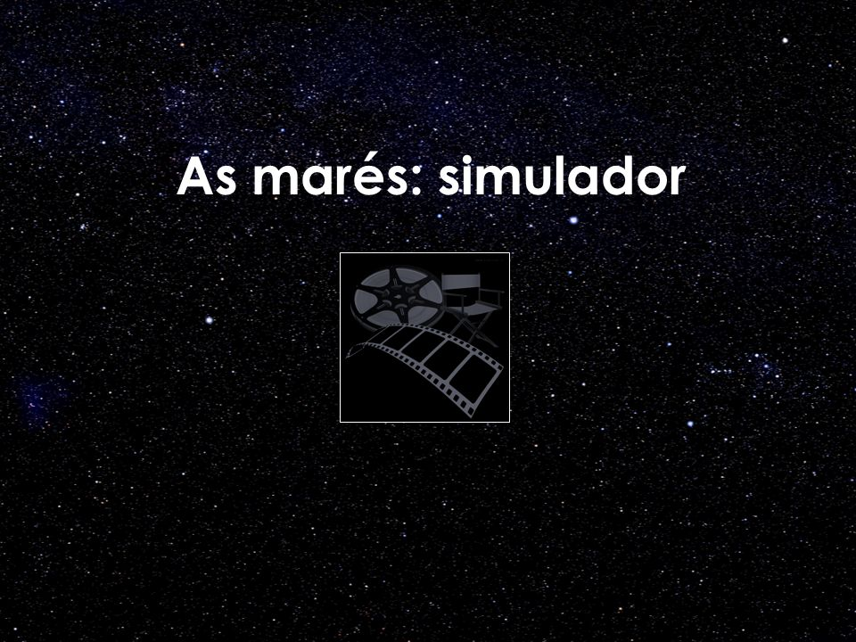 As marés: simulador