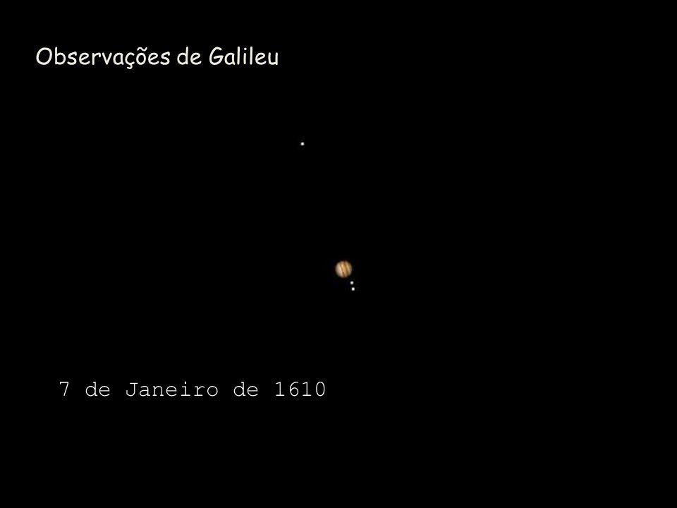 Observações de Galileu 7 de Janeiro de 1610