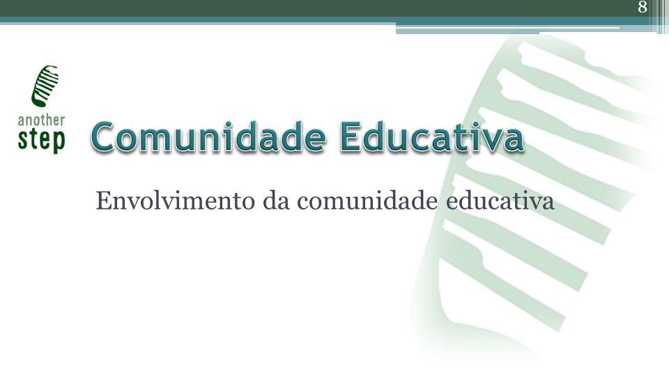 Envolvimento da comunidade educativa 8