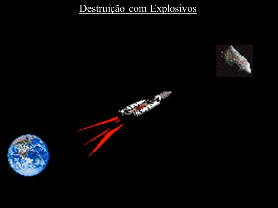 Destruição com Explosivos