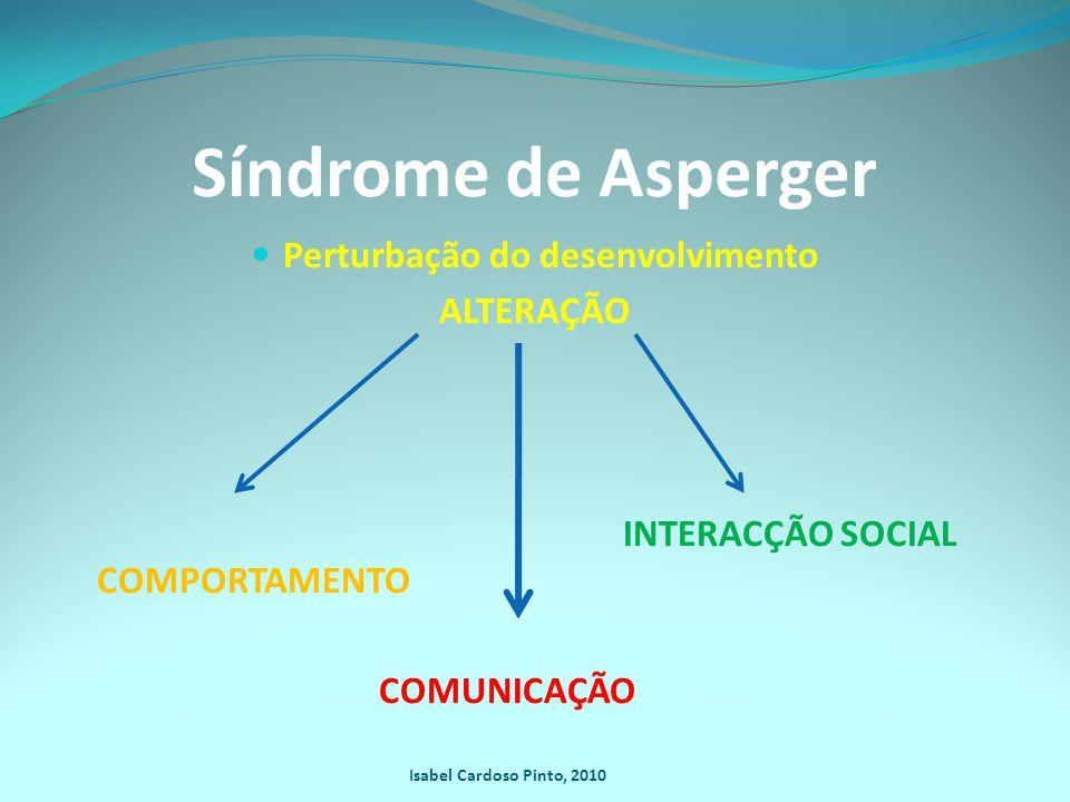 Síndrome de Asperger SA é um subgrupo do espectro do autismo.