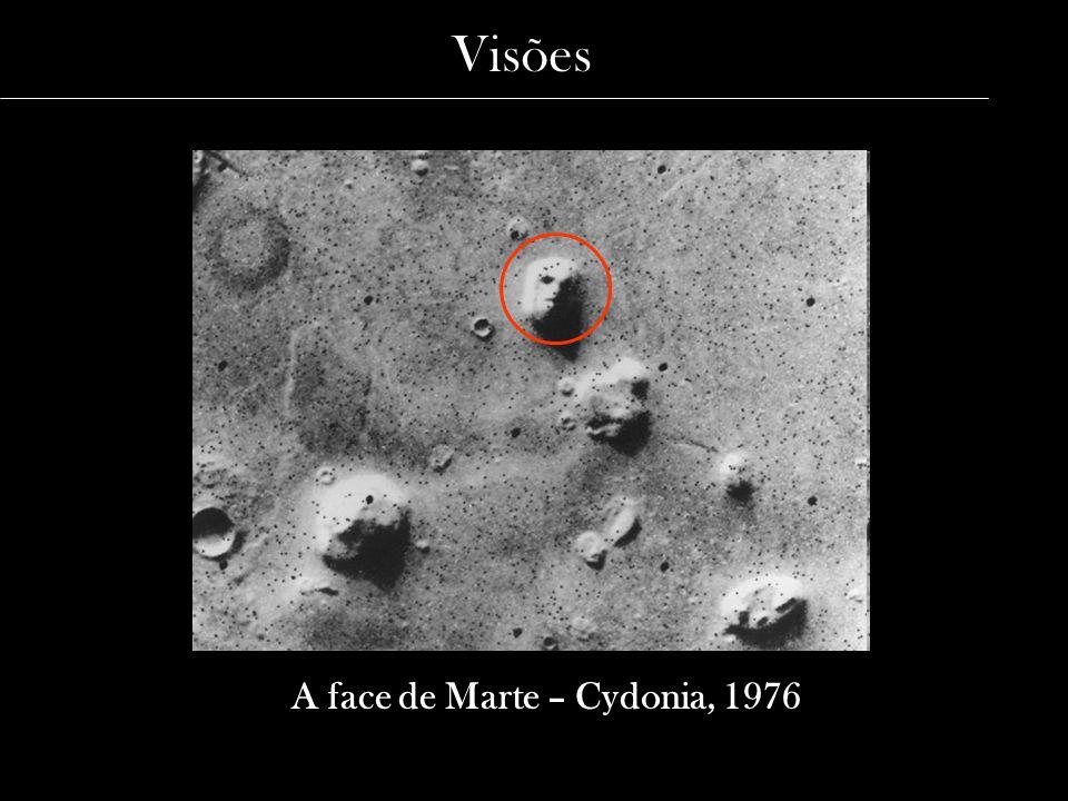 A face de Marte – Cydonia, 1976 Visões