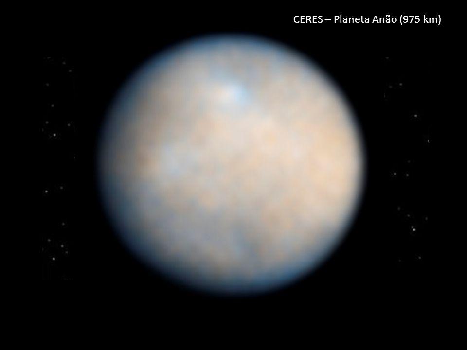 CERES – Planeta Anão (975 km)