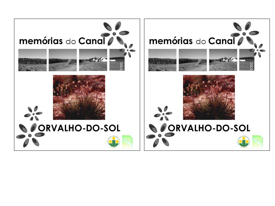 2005 memórias do Canal ORVALHO-DO-SOL 2005 memórias do Canal ORVALHO-DO-SOL