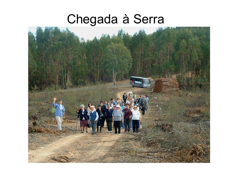 Chegada à Serra