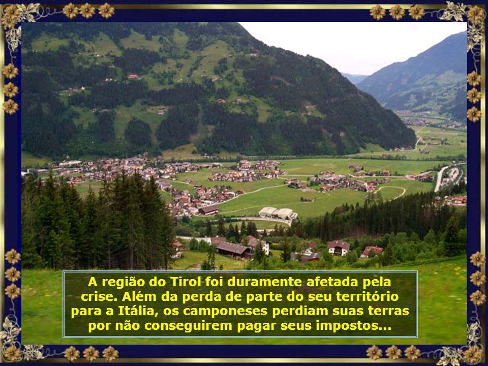 A região do Tirol foi duramente afetada pela crise.