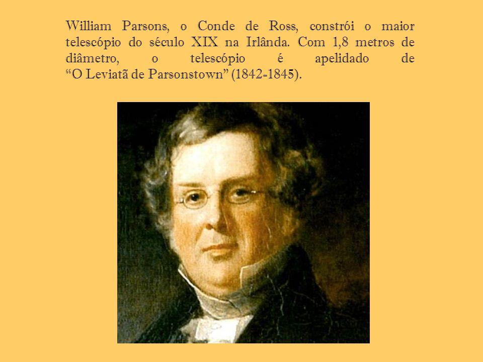 William Parsons, o Conde de Ross, constrói o maior telescópio do século XIX na Irlânda. Com 1,8 metros de diâmetro, o telescópio é apelidado de O Levi