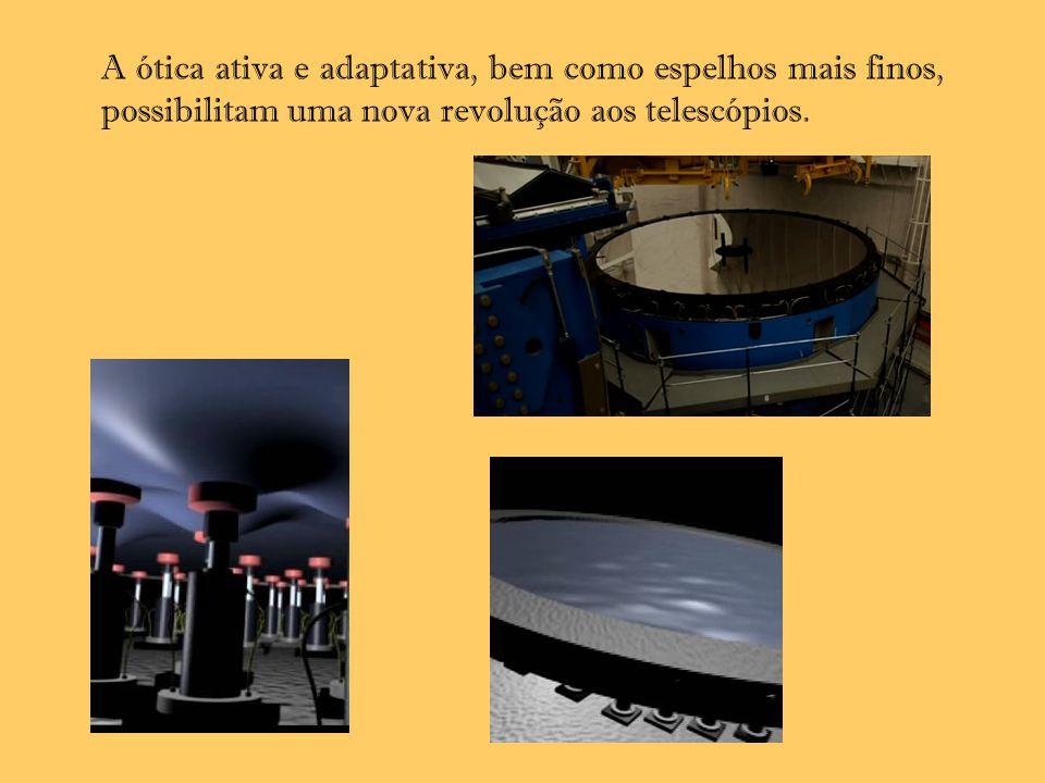 A ótica ativa e adaptativa, bem como espelhos mais finos, possibilitam uma nova revolução aos telescópios.