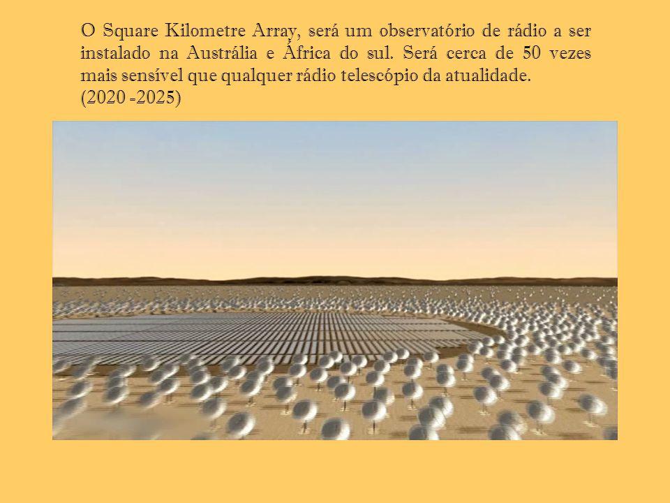 O Square Kilometre Array, será um observatório de rádio a ser instalado na Austrália e África do sul. Será cerca de 50 vezes mais sensível que qualque